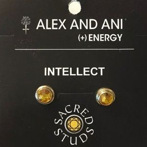 Alex & Ani Energy Sacred Studs Earrings Pierced.